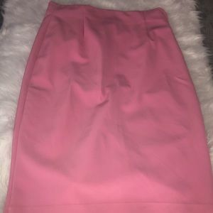 ZARA Pink Pencil Skirt